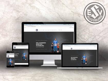 ESV Augsburg Website Online